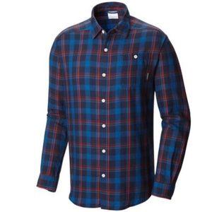 COLUMBIA Cornell Woods Flannel Plaid Shirt 3X